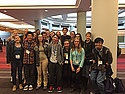 Carleton students at the AASHE Student Summit.