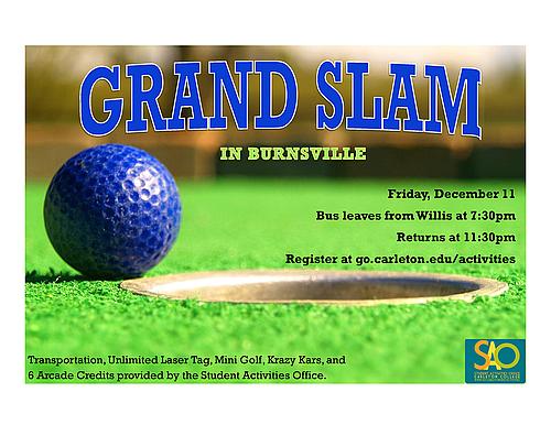 Grand Slam Trip | Break Programming at Carleton | Carleton