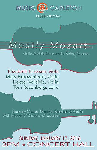 Faculty Recital: Elizabeth Ericksen, viola | Arts at