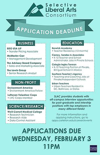Application Deadline for Multiple Opportunities - SLAC