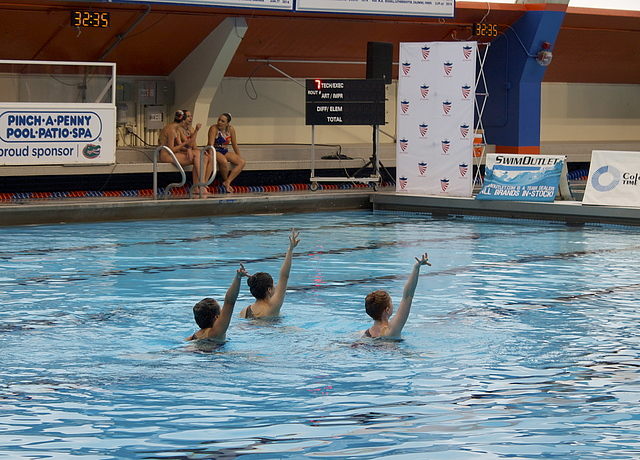 Synchronized Swimming Nationals Competition