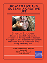 Living and Sustaining a Creative Life: Marketing your Arts Career