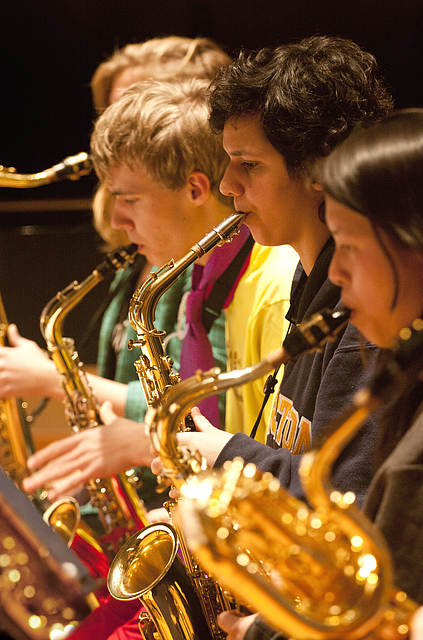 Student musicians