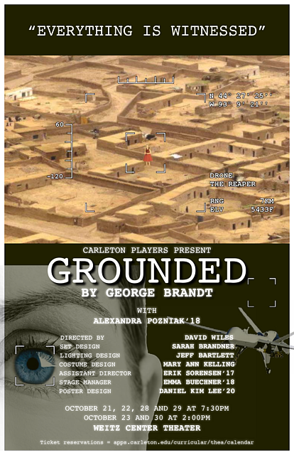 Carleton Players: GROUNDED