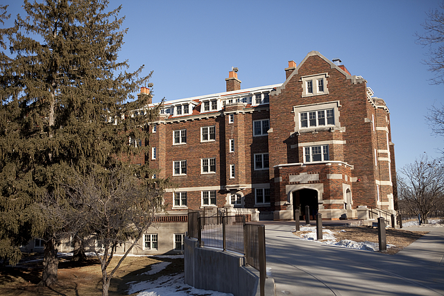 carleton college evans hall