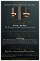 The Humanities Center poster for Mass Incarceration Events