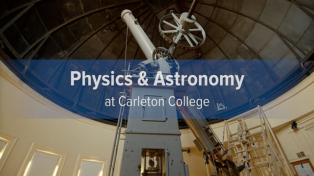 Physics & Astronomy video screengrab