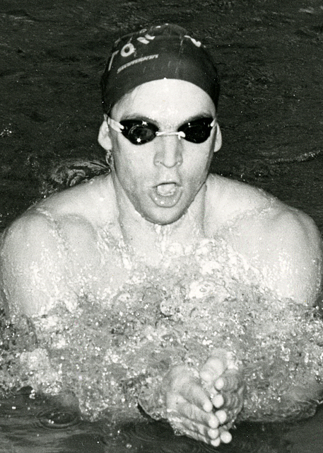 Geoffrey Isaacman '92, men's swimming and diving, C-Club inductee 2017