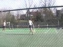A placard image for media work Women's Tennis: Bethel Highlights (300kbps)