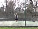 A placard image for media work Women's Tennis: Gustavus Highlights (300kbps)