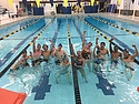 Carleton College SwimFit Hour of Power 2016