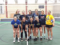 Carleton College Women's Volleyball Hour of Power 2016