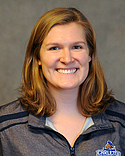 Caroline Mather, women's swimming and diving