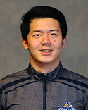 Alan Zheng, men's swimming and diving