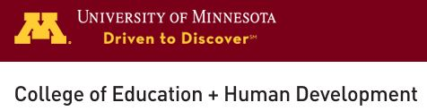U of MN College of Education + Human Development