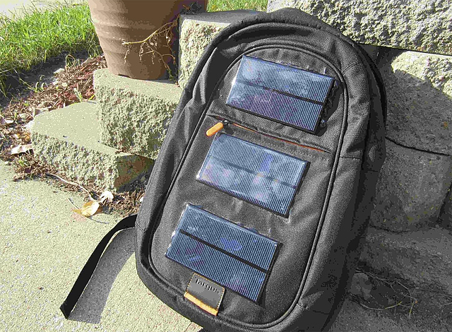 solar backpack, Chris Anisowicz story, Jan. 18, 2018
