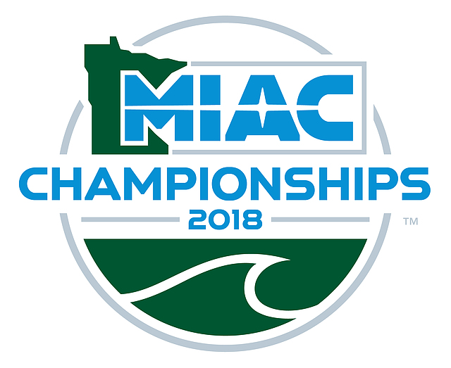 2018 MIAC Swimming and Diving Championships logo