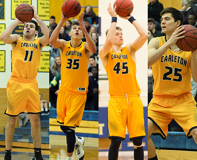 Four Knights recognized with MIAC postseason honors ...