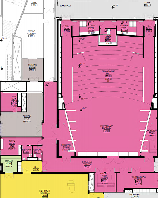 Kracum Hall Floor Plans