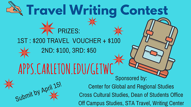 Travel Writing Contest