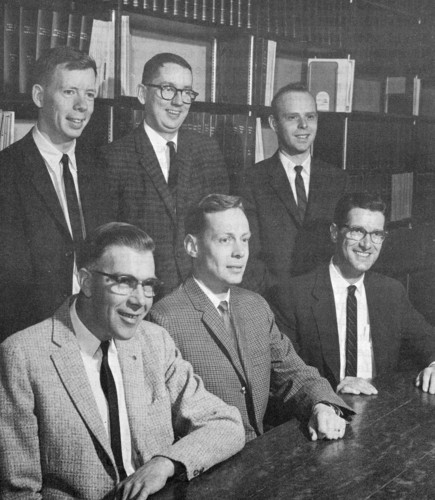 Chemistry Department 1963