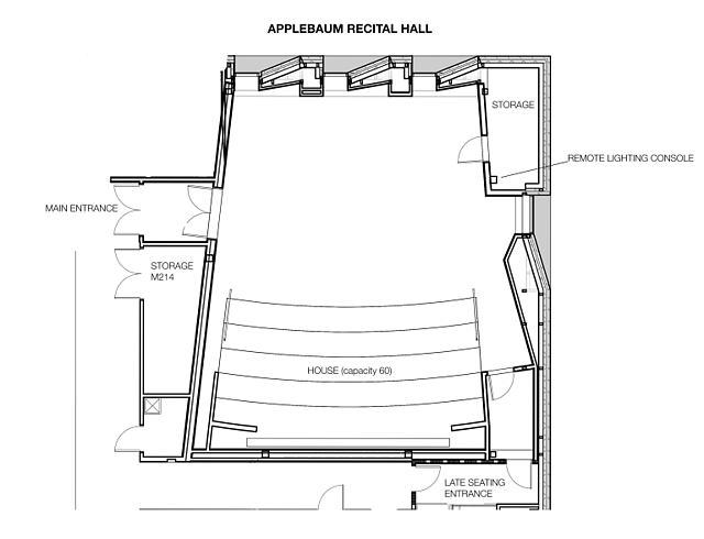 Appleabaum Recital Hall