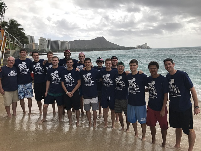 Men's Basketball: Hawaii Trip 2016