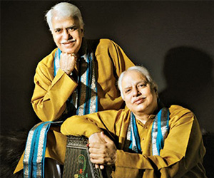 Legendary Hindustani vocalists Pandits Rajan Misra and Sajan Misra