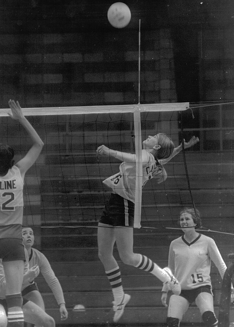 Madeleine McAfee '78, volleyball, C-Club inductee, 2018