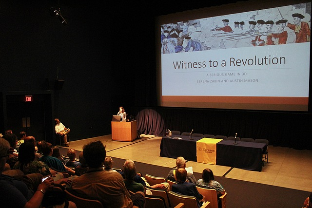 Lydia Symchych ('18) presents Witness to the Revolution, a