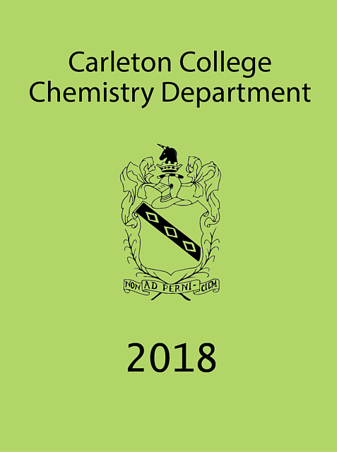 Annual Report for 2017–2018 Academic Year – Chemistry