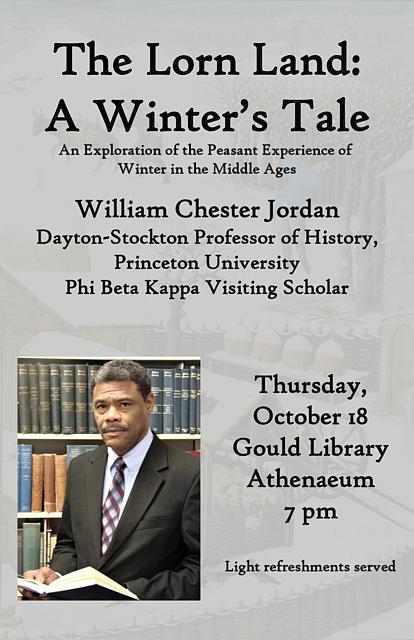 klassiek beste keuze uitverkoop Fall Phi Beta Kappa Lecture - Prof William Chester Jordan ...