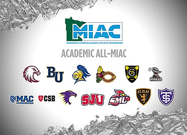 MIAC Academic All-Conference, Fall 2017