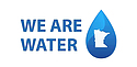 """We Are Water"" logo"
