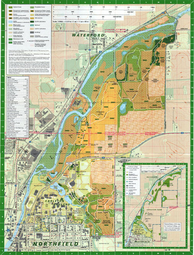 A map of the Arboretum. | Observing, Thinking, Breathing ...