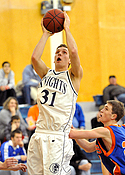 Zach Johnson '09, men's basketball, C-Club inductee, 2019