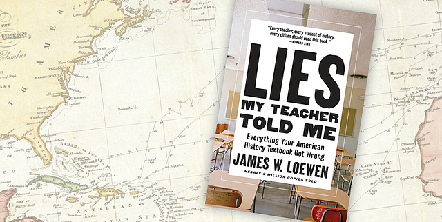 Lies bookcover by James Loewen