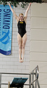 Erica Deur, 3-meter diving, Calvin