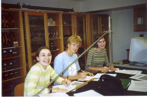 Physics Students Fall 2003