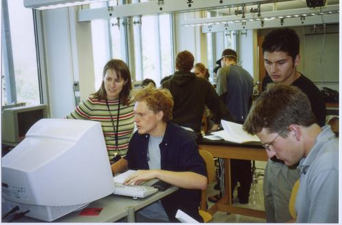 Physics students fall 2003 #2