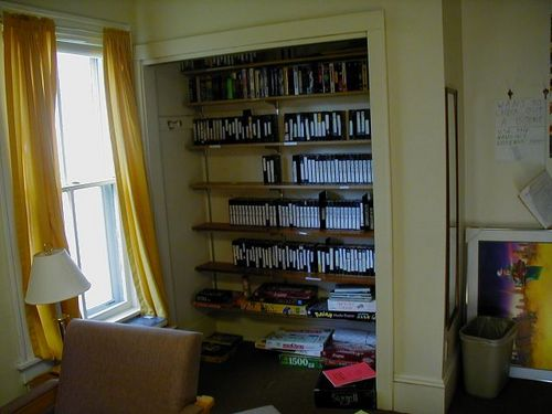 New shelves in the SFA Library