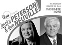 Jessica Peterson and Tom Neuville to Debate