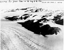 Liv Glacier,aerial photo taken on Byrd's flight to the Pole, November 1929.