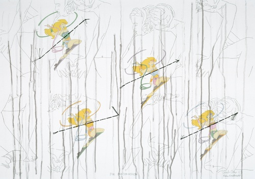 Ghada Amer and Reza Farkhondeh, <em>For Wonder Woman</em>