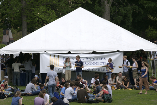Campaign Picnic Tent The Campaign For Carleton Carleton College