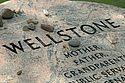 Paul and Shiela Wellstone's grave site