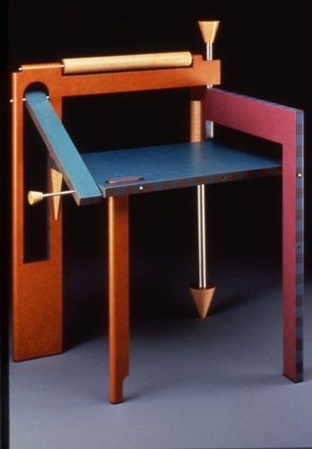 Tom Loeser, One Folding Chair