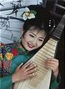 Gao Hong, adjunct instructor in Chinese musical instruments and one of the world's foremost performers on the Chinese pipa (lute).