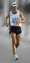 Phillip Dunn during 2004 Olympic Race in Athens