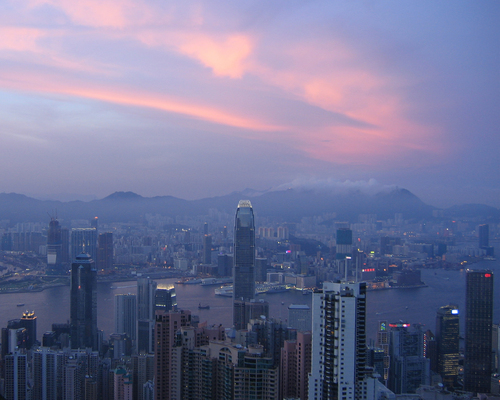 Twilight in Hong Kong | Off-Campus Studies | Carleton College